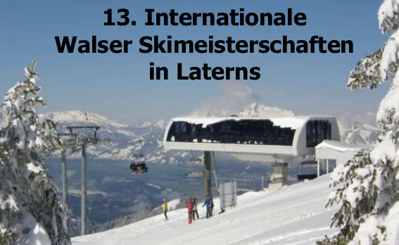Internationale Walser Skimeisterschaften 2013